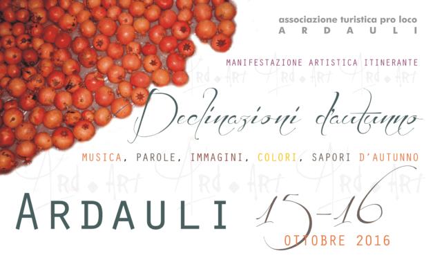 Festival Declinazioni d'autunno ad Ardauli: colori, sapori, parole, musica e immagini