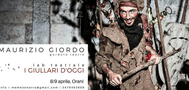 Workshop teatrale di due giorni (16 ore) a cura di M. Giordo